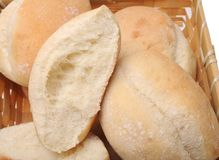 Haft baked bread Stock Image