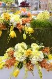 Haft-Sin display. Haft-Sin table display during a Nowruz festival Stock Photos