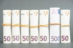 Haften Sie heraus finanziell! Lizenzfreie Stockbilder