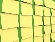 Haftnotiz-Tafel Lizenzfreie Stockbilder