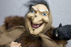 Hag com tomcat Imagem de Stock Royalty Free