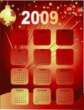 Haga calendarios 2009 Foto de archivo