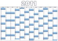 Haga calendarios 2011 Foto de archivo libre de regalías