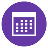 Haga calendarios el icono Imagen de archivo