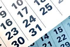 Haga calendarios la paginación fotos de archivo