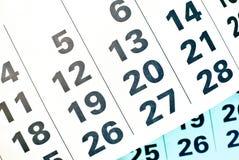 Haga calendarios la paginación imagenes de archivo