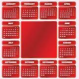 Haga calendarios la red de 2010 años. Fotos de archivo libres de regalías