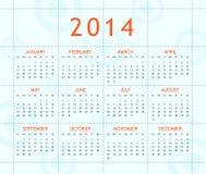 Haga calendarios por el año 2014 Imagenes de archivo
