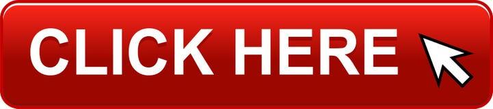 Haga clic aquí el botón del Web stock de ilustración