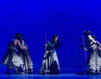 Haga ` de Cangyangjiacuo del drama de la danza del queso- `` Foto de archivo