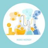 Haga el concepto del dinero libre illustration