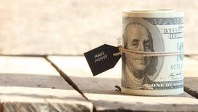 Haga el concepto del dinero metrajes