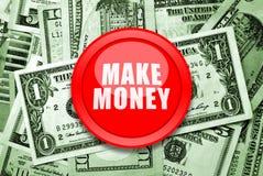 Haga el dinero Fotos de archivo libres de regalías