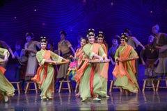 """Haga el sueño pegajoso del """"The del drama de la danza-danza de las bolas de arroz del  de seda marítimo de Road†Foto de archivo"""
