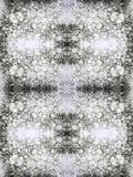 Haga espuma en un fondo blanco teñido con la tinta, collage Imagenes de archivo