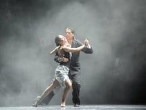 Haga excursionismo la identidad dura del individuo- del drama de la danza del misterio-tango Imagen de archivo