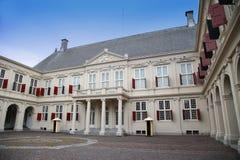 HAGA holandie - SIERPIEŃ 18, 2015: Na bramie Zdjęcie Stock