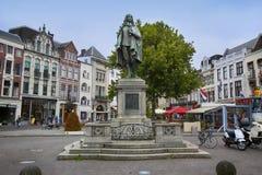 Haga holandie - Sierpień 18, 2015: Statua Johan Obraz Royalty Free