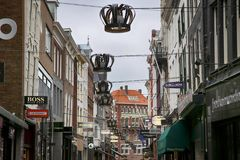 HAGA holandie - SIERPIEŃ 18, 2015: Widok Hoogst Zdjęcia Stock