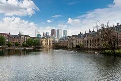 Haga, melina Haag, holandie Obraz Royalty Free