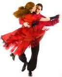 Haga pivotar a los bailarines Imágenes de archivo libres de regalías