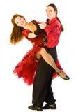Haga pivotar a los bailarines Imagenes de archivo