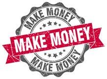 Haga que el dinero sella ilustración del vector