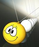 Haga que sonríen Foto de archivo libre de regalías