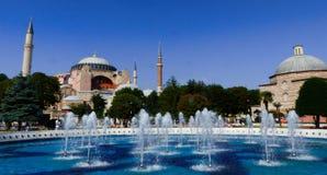 Haga Sophia en Estambul Imagen de archivo libre de regalías
