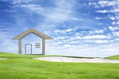 Haga su casa Foto de archivo libre de regalías