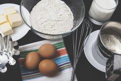 Haga su propia torta Imagen de archivo libre de regalías