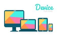 Haga tabletas la PC, el teléfono móvil y los dispositivos digitales. Fotos de archivo libres de regalías