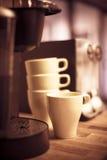 Hagamos un poco de café fotografía de archivo