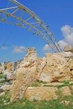 Hagar Qim Tempel Stockfoto