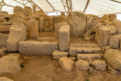 Hagar Qim Temple Royalty Free Stock Photography