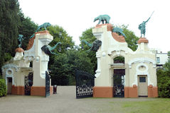 Hagebecks zoo Hamburg, Tyskland Arkivfoto
