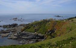 Hagedispunt, Cornwall Royalty-vrije Stock Afbeeldingen