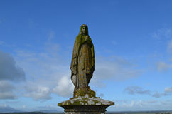 Hagel Mary Statue in Irland lizenzfreie stockfotografie