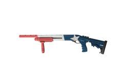 Hagelgevär Texas Theme Pump Isolated Left Fotografering för Bildbyråer