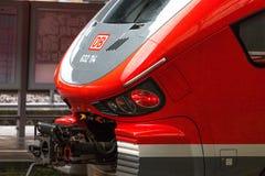 Db Train in Hagen Germany. Hagen, North Rhine-Westphalia/germany - 13 03 19: db Train in Hagen Germany royalty free stock images