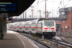 IC Train in Hagen Germany stock image