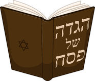 Haggdah Book For Passover Stock Photo
