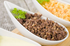 Haggis, Neeps & Tatties Stock Photos