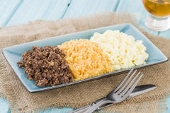 Haggis, Neeps & Tatties Royalty Free Stock Image