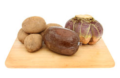 Haggis tatties and neeps Royalty Free Stock Images