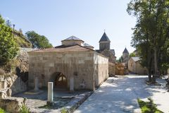 Haghartsin修道院在亚美尼亚的塔武什省地区 库存图片