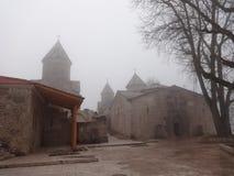 Haghartsin monaster w mgle Zdjęcie Stock