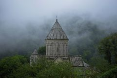 Haghartsin Monastery located near the city of Dilijan in Armenia stock images