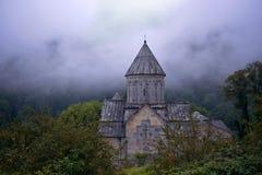 Haghartsin Monastery located near the city of Dilijan in Armenia stock photo