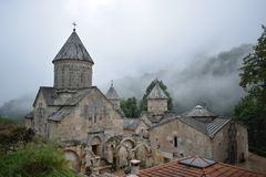 Haghartsin Monastery located near the city of Dilijan in Armenia royalty free stock images